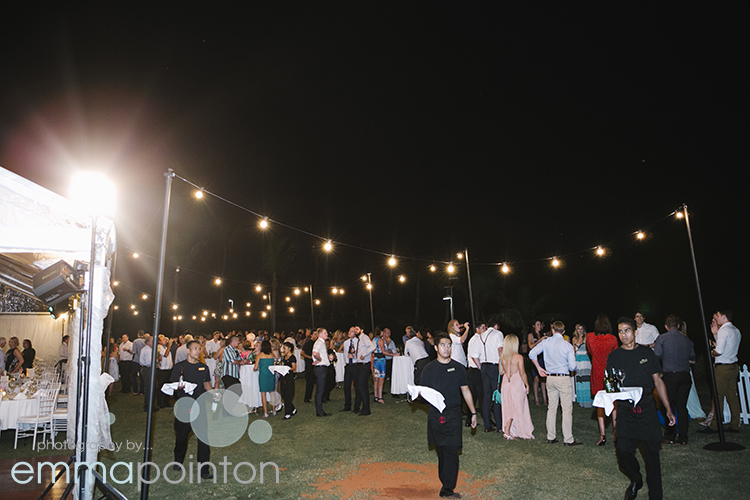 Cable Beach Resort Wedding Reception