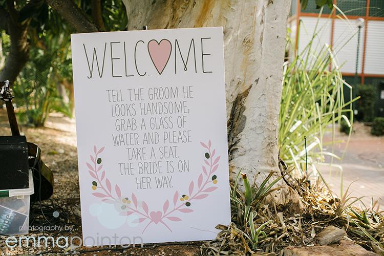 Cable Beach Resort Wedding Ceremony