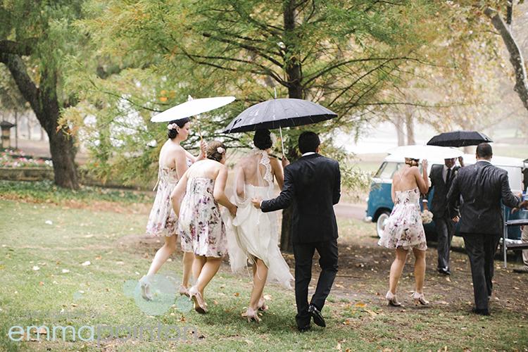 Rainy Day Wedding Perth