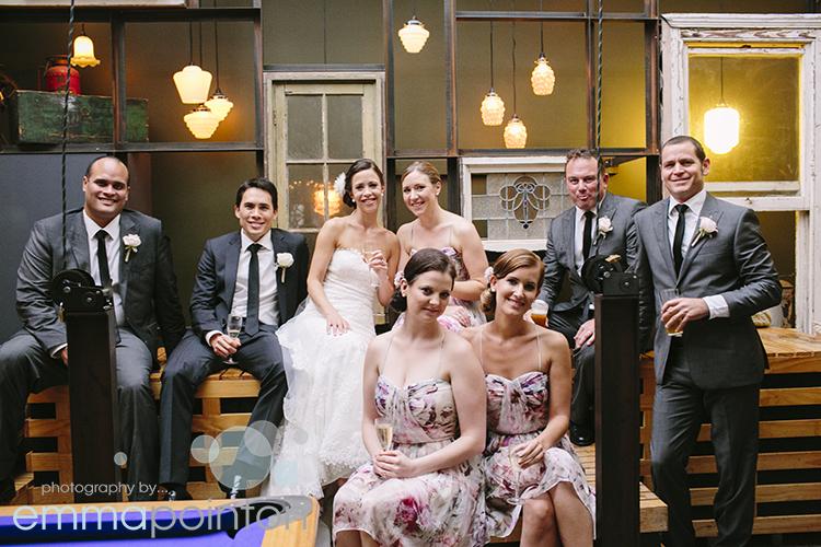 Five Bar Wedding Photos