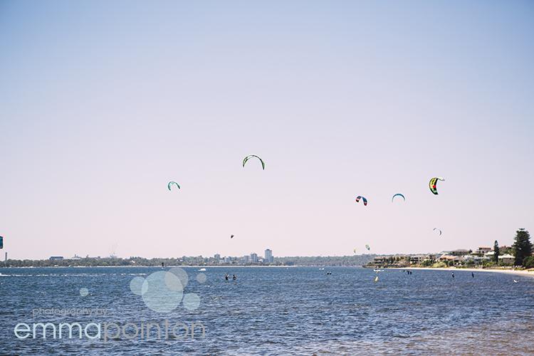 Kite surfing