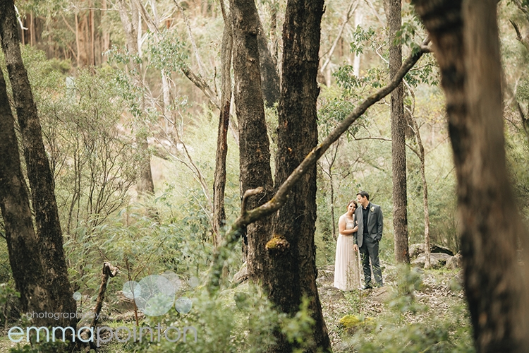 Dwellingup Winter Wedding