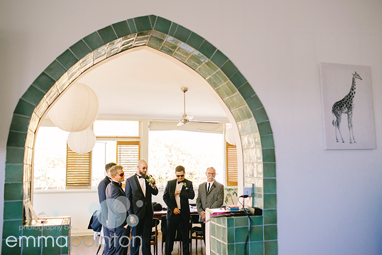 Funky freo wedding