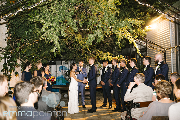 Moore & moore Cafe Wedding