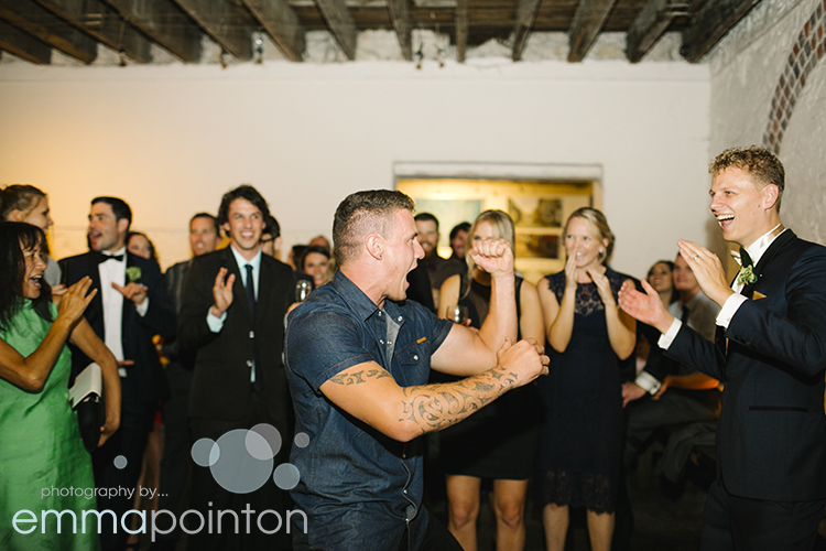 Haka at Moore & Moore Cafe Wedding
