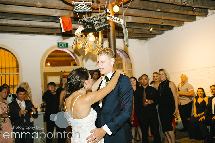 First dance Fremantle Wedding