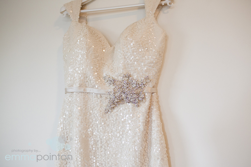 Sparkly dress hob nobs