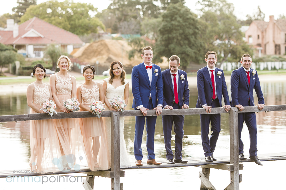 Bridal party jetty perth