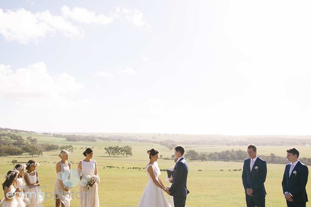 Country WA wedding