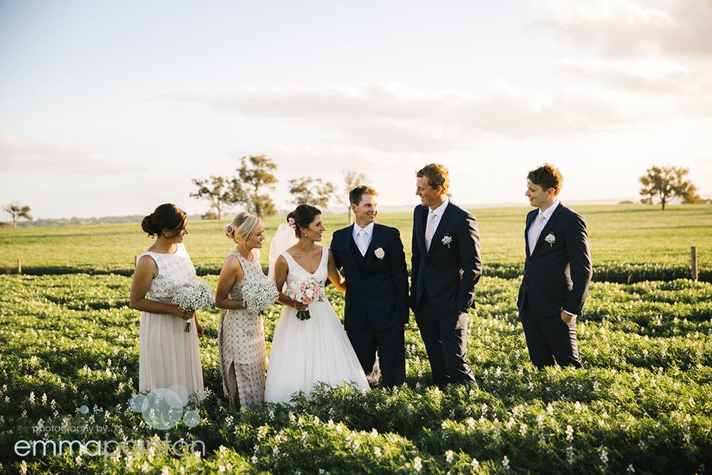 Farm wedding photography