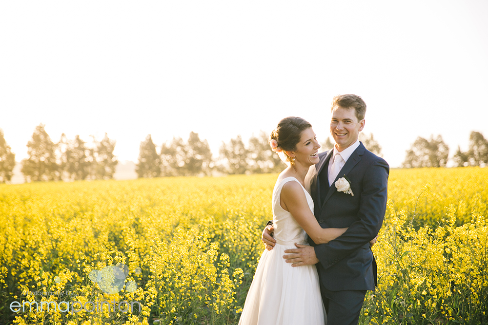 Canola wedding photography