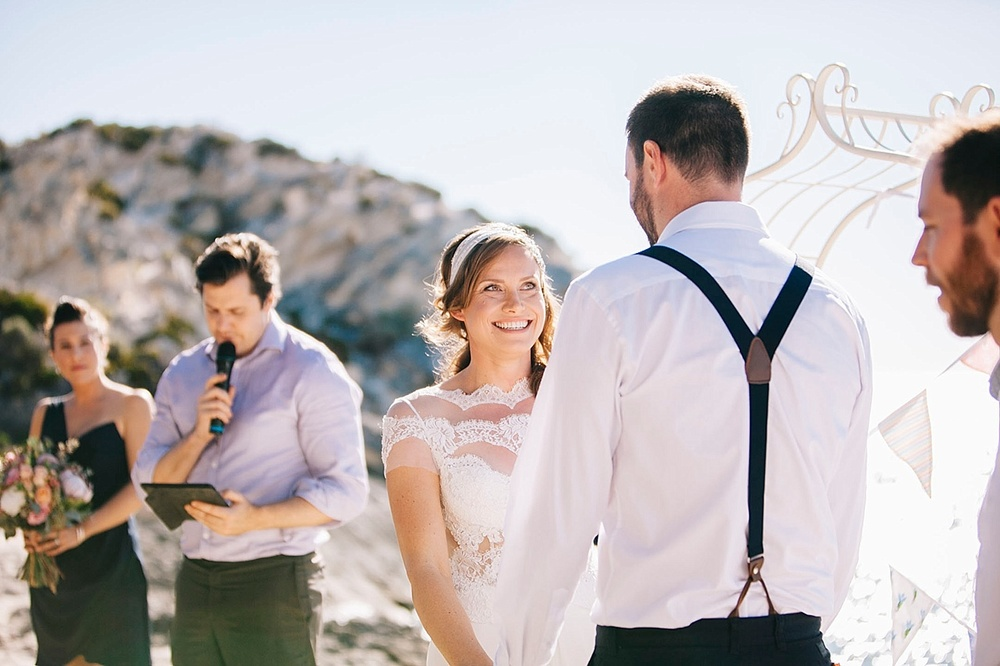 Celebrant James McHale Rottnest Wedding