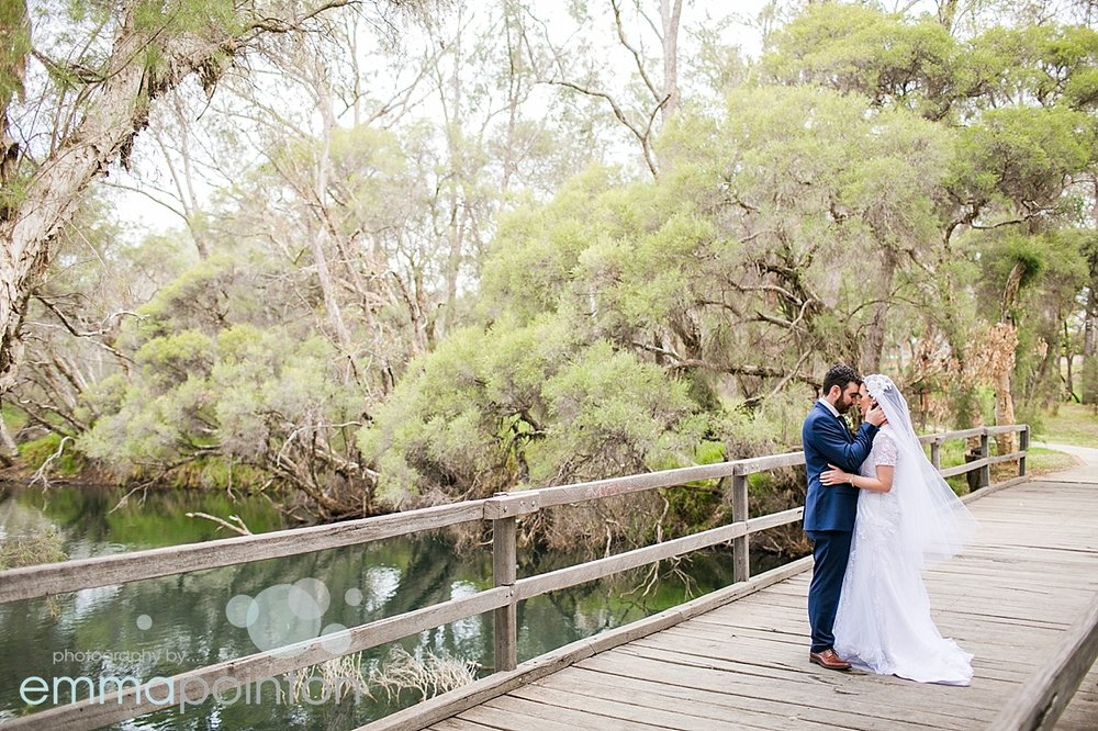 Pinjarra wedding photography