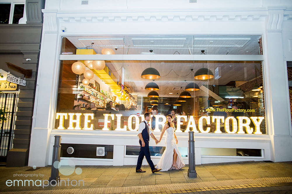 Flour Factory Perth Wedding