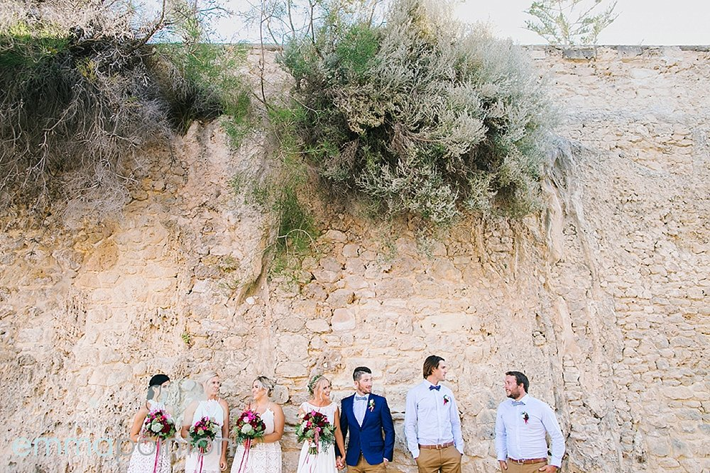 Fremantle bridal party