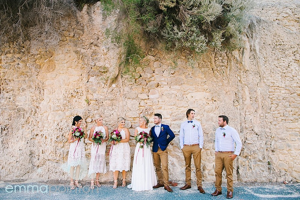 Bohemian Fremantle wedding