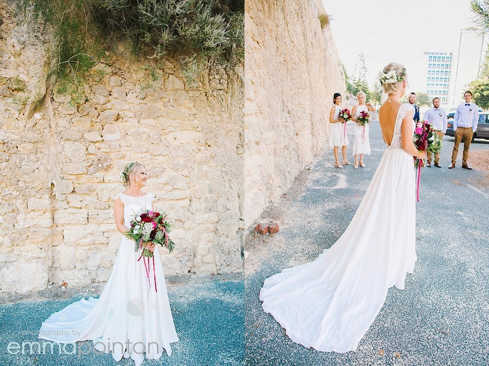 Hobnob bridal dress in fremantle