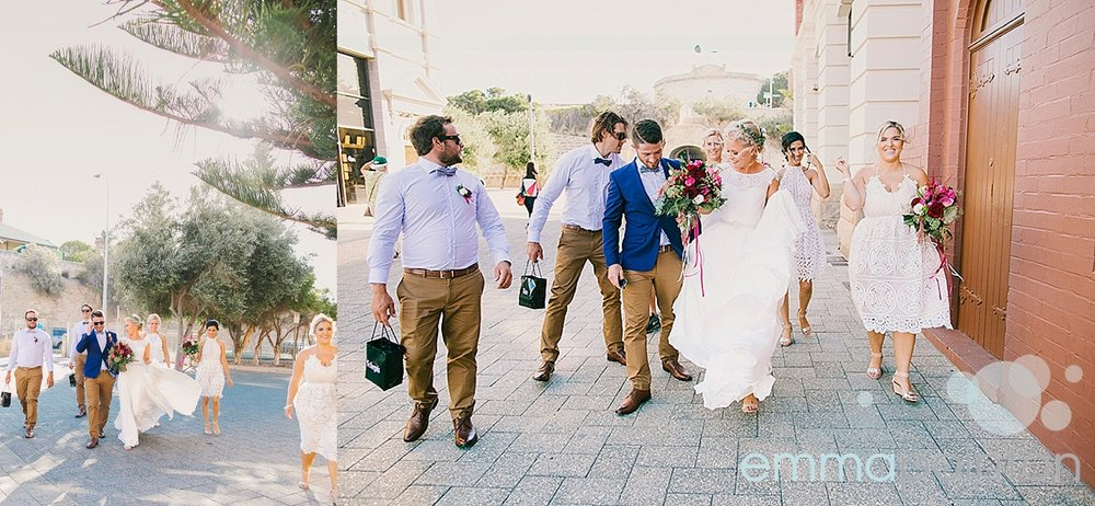Wedding portraits Fremantle