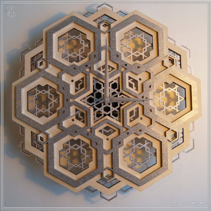 Geometric, wood, woodwork, cnc, cad, maya, rhino, procedural, generative, geometry, sacred,hexagon, platonic, solid, psy, psychedelic, art, clock, shop, buy, sale, store, discount,l, spiritual 56.jpg