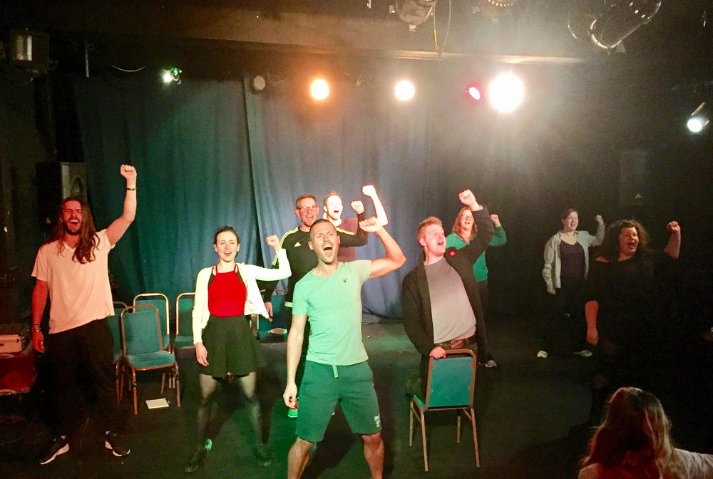 """Saucy Jack & The Space Vixens"" Rehearsals"