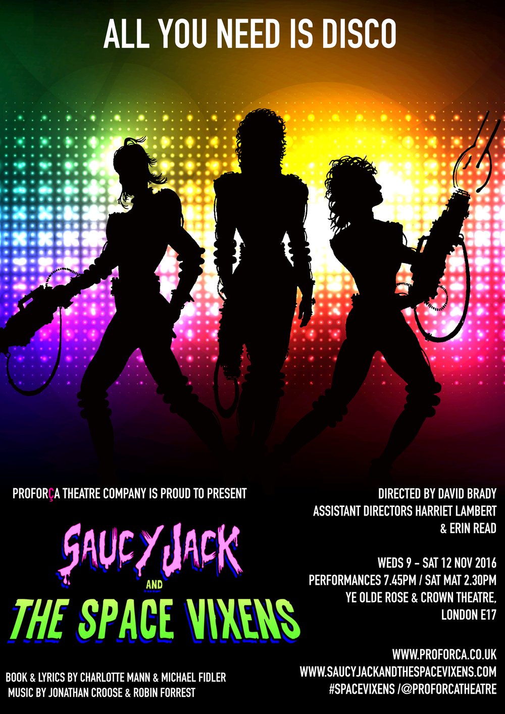 Saucy Jack & The Space Vixens (2016)