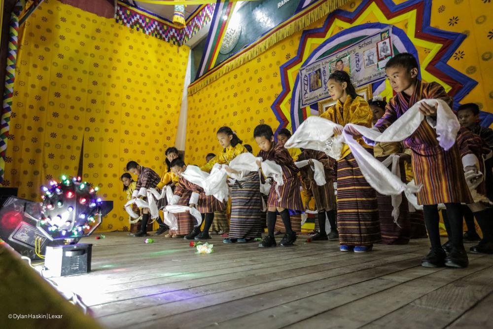 School concert Bhutan