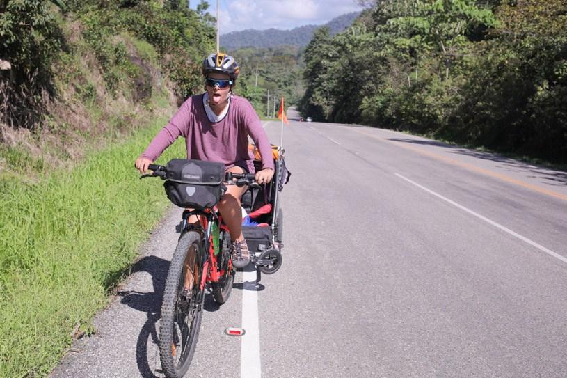Tough cycling in Costa Rica