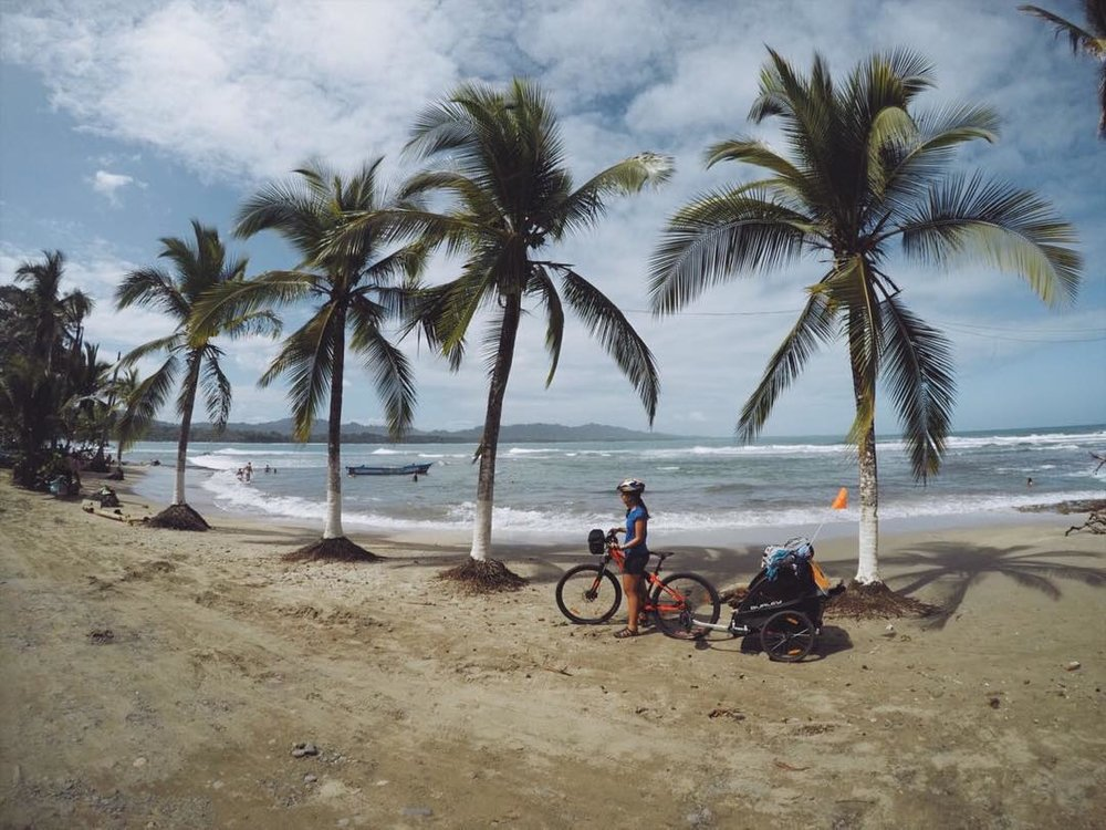 Cycling in Puerto Viejo, Costa Rica