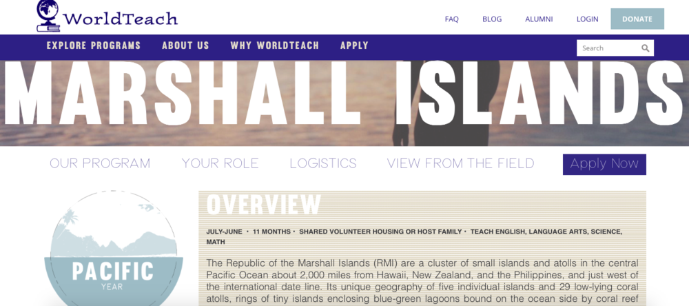 Marshall Islands school