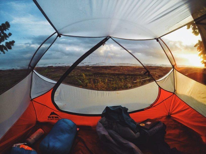 Camping in Costa Rica