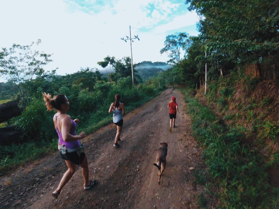 Running in Costa Rica, Monetzuma