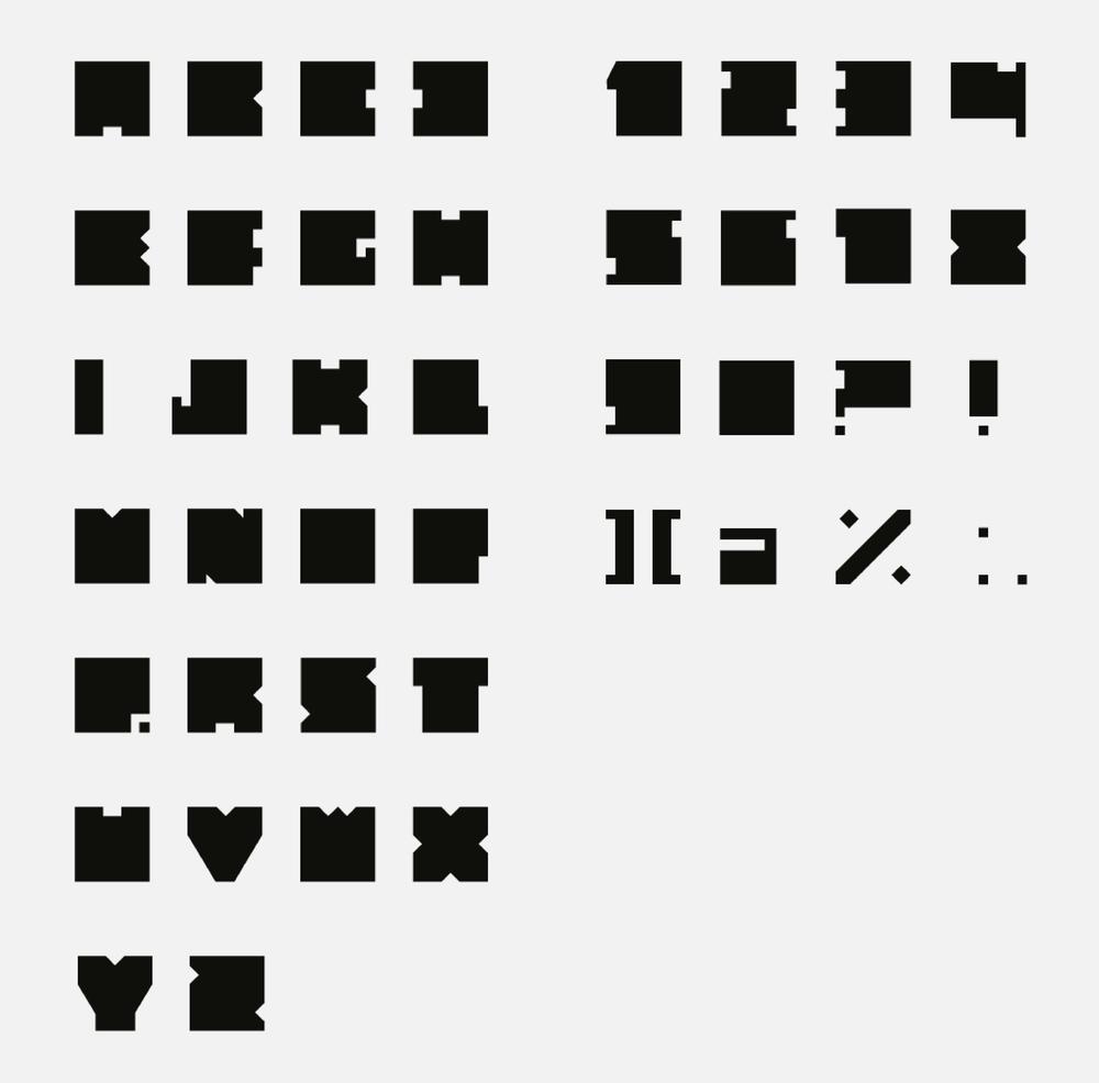 Custom Typeface