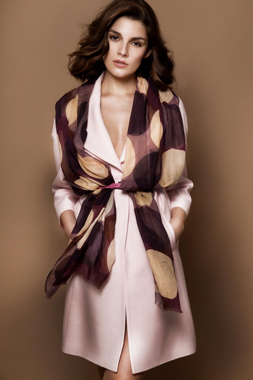 Dot Speck in dark purple, mauve, and cream. 200x60cm cashmere modal. rectangle scarf.jpg