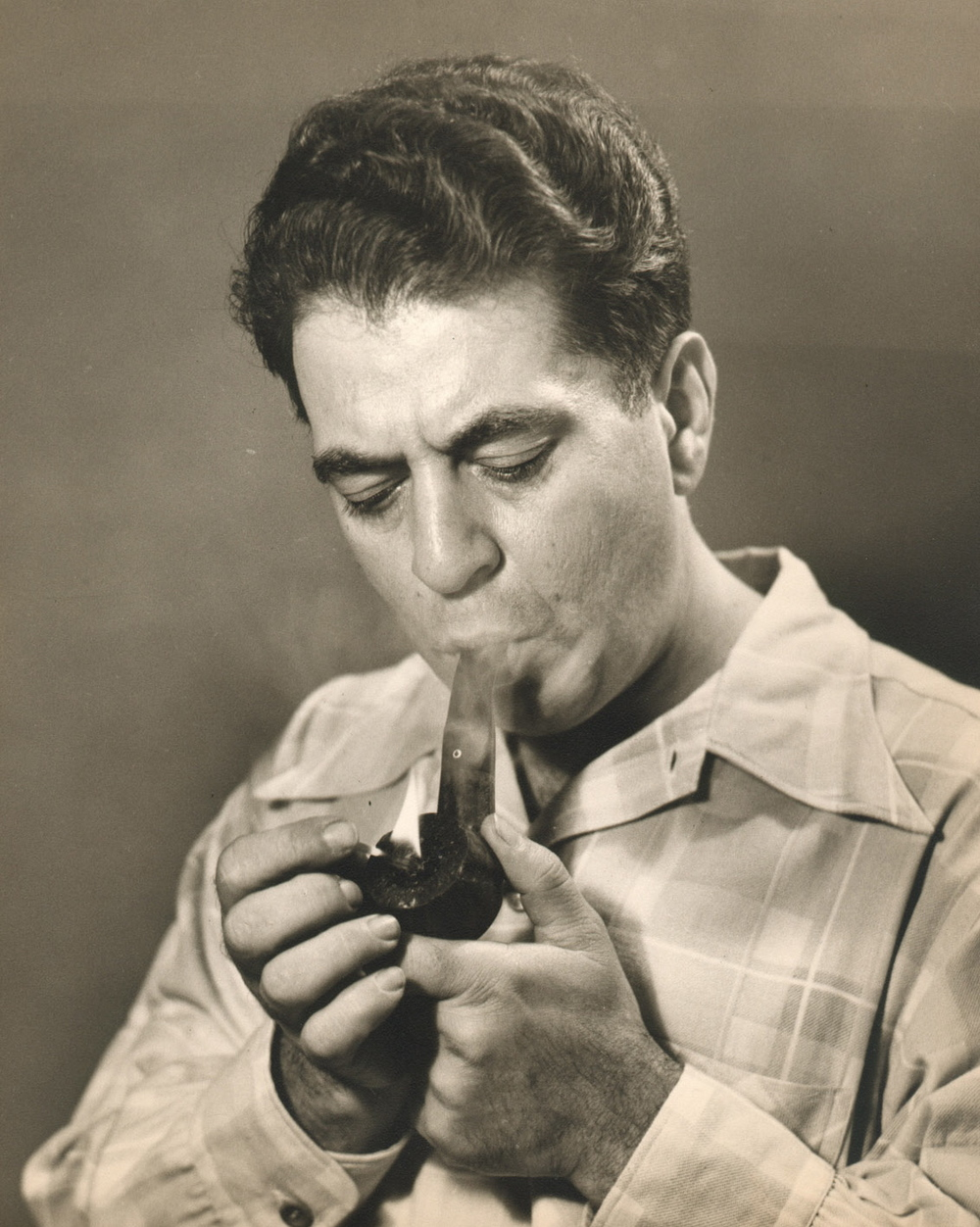 Grampop lighting cigar.jpg