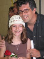 Rachel Altobell and her daddy