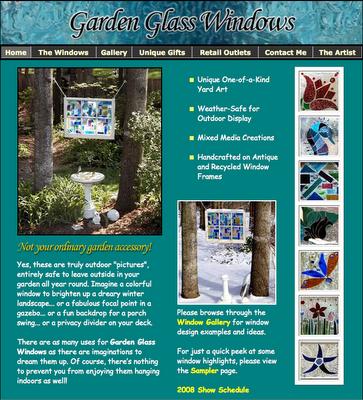 Lynn Gillis - Garden Glass Windows