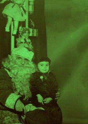 Steve Martorano and Mean Santa