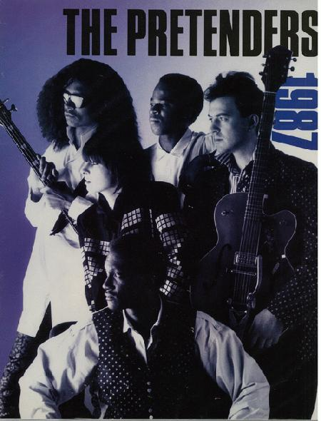 "The Pretenders ""Get Close"" Tour Program 1987"