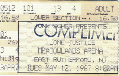 May 12, 1987 – U2 - Meadowlands Arena