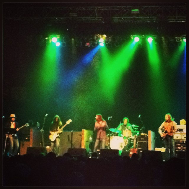 April 13, 2013 – Black Crowes – The Electric Factory