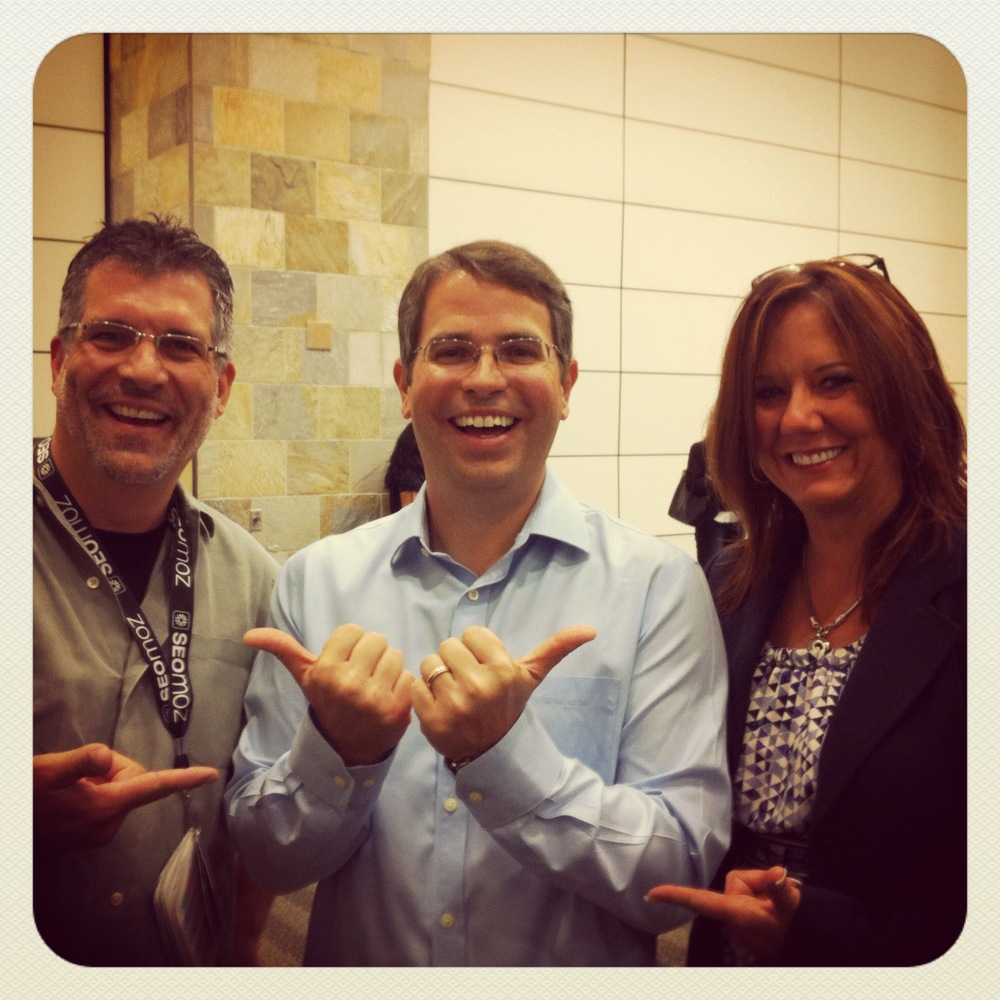 With Matt Cutts at   #  SES  , 2012