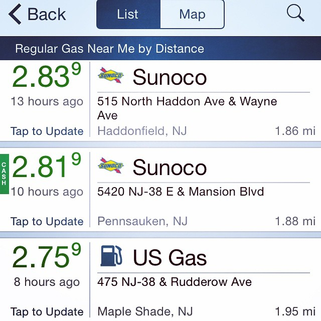 #CheapGas -- How low will it go?