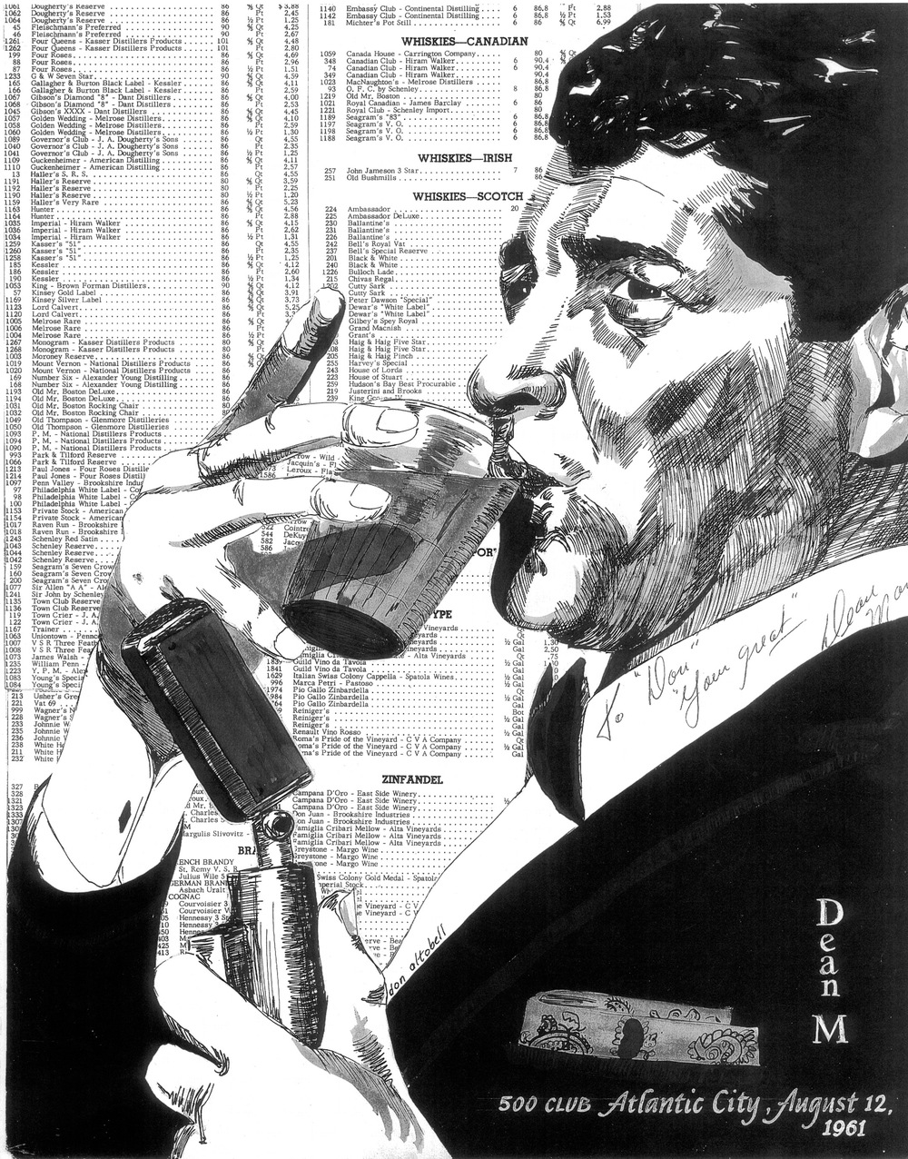 Dean Martin by Don Altobell