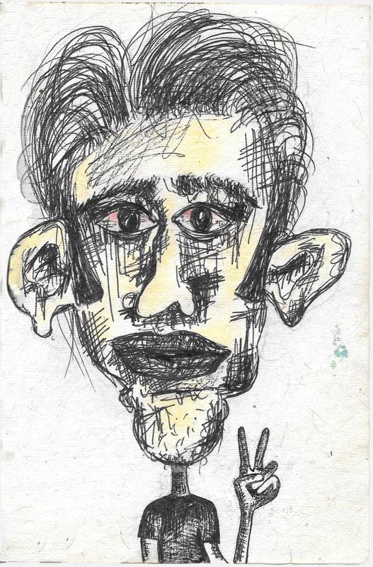 Pen & pencil on paper, 2010