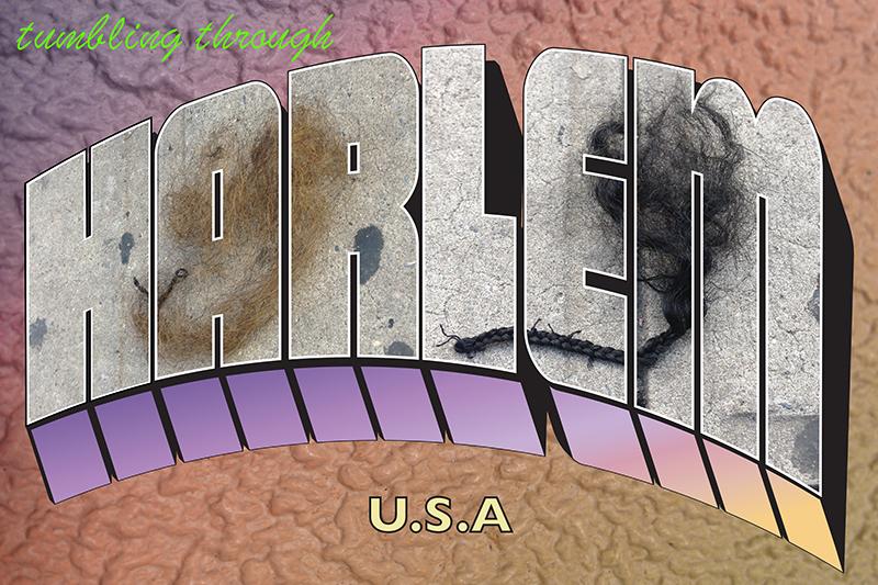 """""""Tumbleweaves on the Frontier"""" Harlem Postcard"""