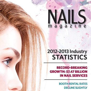 """5 Reasons Nails Are Suddenly in the Spotlight"",   NAILS Magazine: The Big Book Industry Guide 2012-2013, 2013. 20."