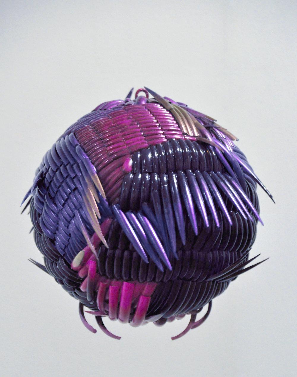 Purple Girl Swirl nail ball 20140917_093Schomburg_Exh.jpg