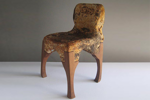 'Yamanaka Chair' by MycoWorks (Image courtesy of MycoWorks)