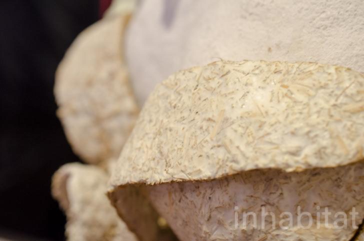 'Mushroom Wedding Dress' by Erin Smith (Image via Inhabitat)