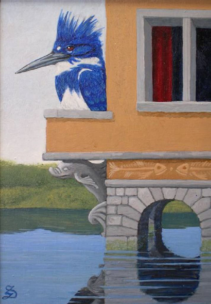 The Kingfisher on His Palace Balcony